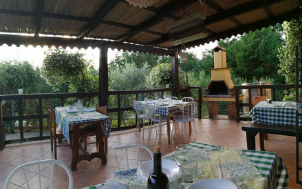 Terrasse - B&B Alloro, San Martino in Colle (LU)
