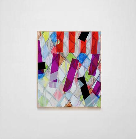 Rythme n°90, dim. 51,50 cm x 43 cm, 2020