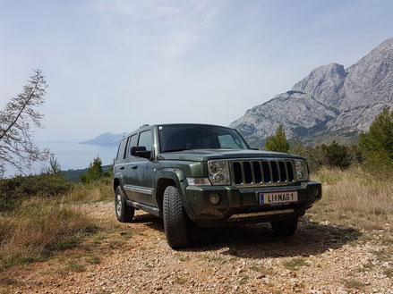 MAG Lifestyle Magazin Dalmatien Urlaub Reisen Adria Offroad Geländewagen Safari Biokovo