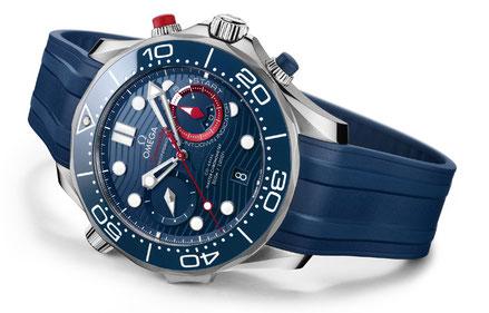 MAG Lifestyle Magazin Urlaub Reisen OMEGA Seamaster Diver 300M America's Cup Chronograph