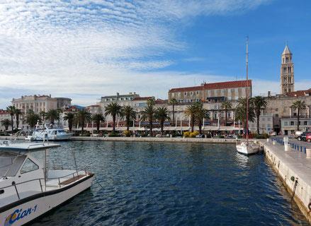 MAG Lifestyle Magazin Urlaub Reisen Kroatien Split Hafenstadt Dalmatien