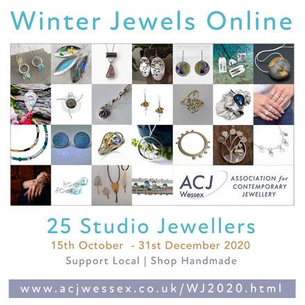 Winter Jewels Online 2020 - ACJ Wessex Contemporary Jewellery