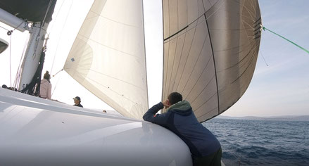 Katamaran Atlantik Segeltörn, Katamaran Mitsegeln Atlantik, Katamaran Atlantik Segeln, Katamaran Hochseesegeln Atlantik, Aktiv Mitsegeln, Katamaran Mitsegeln Segeltörn,  Katamaran Atlantiküberquerung