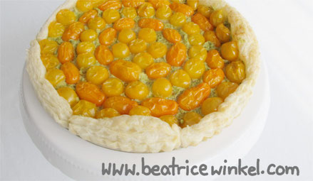 Beatrice Winkel - Tomaten-Tarte
