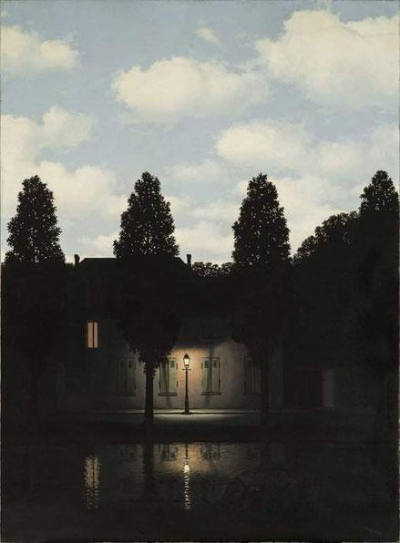 """René Magritte, """"L'impero delle luci"""" (1954)"""