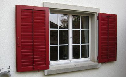 Fenster & Jalousien, Schreinerei Auenstein, Auenstein
