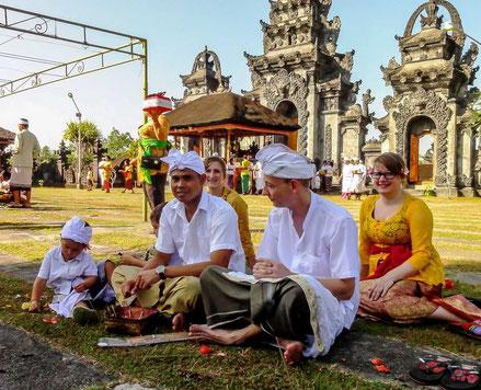 Bijwonen van een traditionele ceremonie op Bali