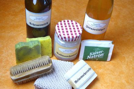 Haushaltsreiniger, Seifen und Reinigungsmittel selbst gemacht