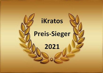 Symbolbild Auszeichnung iKratos Preis-Sieger 2021