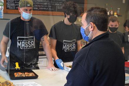 Massa Roman Square Pizza (405 Park Ave.)