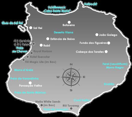 Boa Vista, Urlaub, Sonne, Meer, No Stress, Kapverden, Rabil, Deserto Viana, Morro de Areia, Sandboarding, Varandinha, Santa Monica, Pvoacao Velha, Fon Banana
