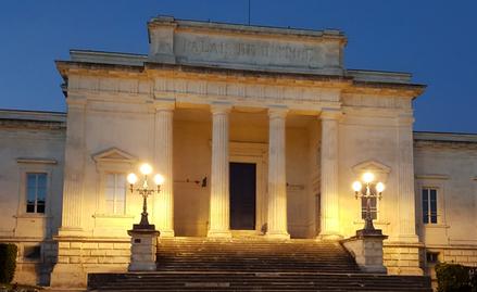 Palais de justice de Saintes de Laurence Ricou en Charente maritime