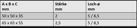 Winkelverbinder 6B.1603.453 / .456