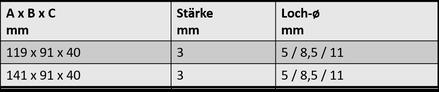 Winkelverbinder 6B.1603.553 / .559