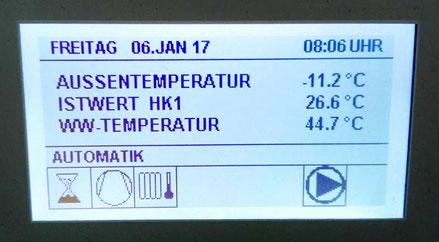 hocheffiziente Wärmepumpe für geringe Heizkosten bei Schwedenhaus von Berg