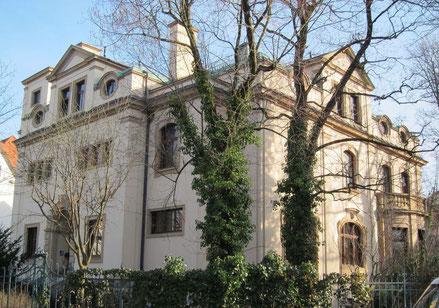 Rudolf Diesel, Villa gebaut 1900/01 in München-Bogenhausen