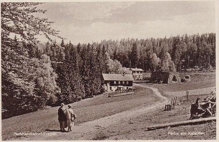Partie am Kalkofen Quelle: Ansichtskarte um 1920
