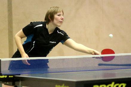 2:0 in der Damen Bezirksliga: Isabell Willmes
