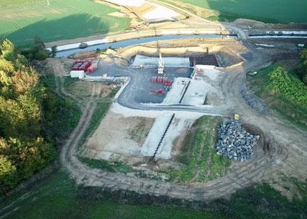 chantier de Montigny-sous-Marle. Photo Vinci CT.