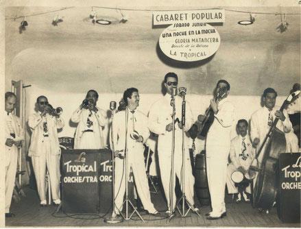 Conjunto Casino en 1949, plantilla que acompañó a Daniel Santos.