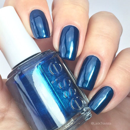 swatch essie bell bottom blues by LackTraviata