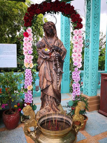 Notre-Dame de la Providence, 2e statue découverte à Areyksat.