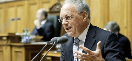 Wirtschaftsminister Johann Schneider-Ammann will ein Zeichen setzen.