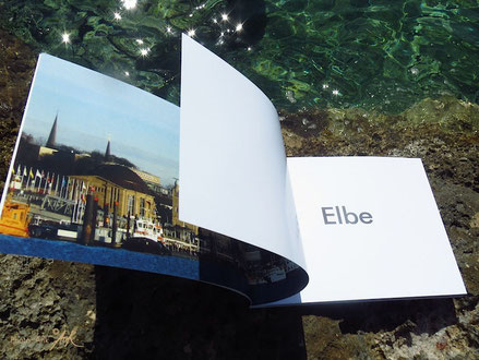 "Buch/Book:    ""Elbe - Sehnsucht an der Waterkant - Longing at the waterfront"" - Photo (c) Ank"