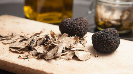 Perigord black truffles