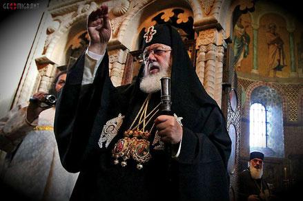 Патриарх Илия II эмгирантам: Вы должны помнить, что в Америке вы временно, ваша родина Грузия