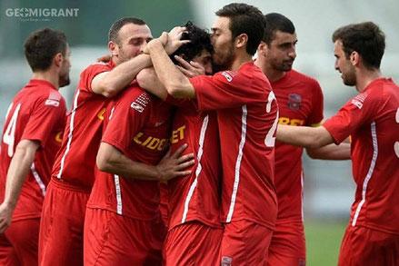 Чемпион Грузии «Горис Дила»  разгромил Турецкий «Аланьяспор»