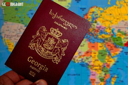 Грузинский паспорт в мировом рейтинге по влиятельности