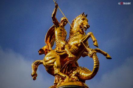 Грузия отмечает День Святого Георгия «Гиоргоба»