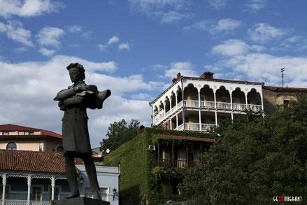 В Грузии отмечают день рождения Пушкина и годовщину его приезда в Тбилиси