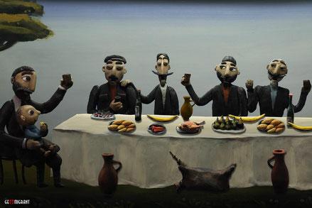 Анимационная сказка о России и Грузии «Подарки чёрного ворона»