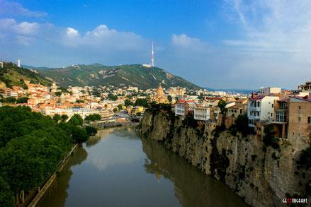 На берегу Куры в Тбилиси планируется строительство гигансткого парка