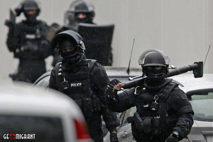 Во Франции задержаны 33 гражданина Грузии