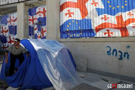 Надежды жителей Грузии, связанные с интеграцией страны в Евросоюз, обернулись разочарованием