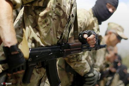 В ходе боя на Донбассе погиб боец «Грузинского Легиона»