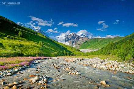 Суровость и очарованье Грузинских гор