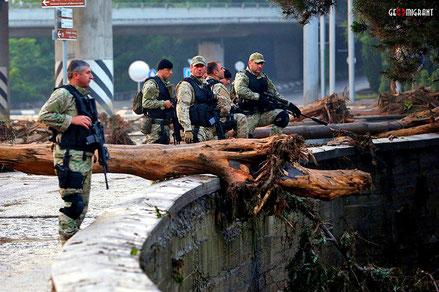 В Тбилиси объявлено чрезвычайное положение!