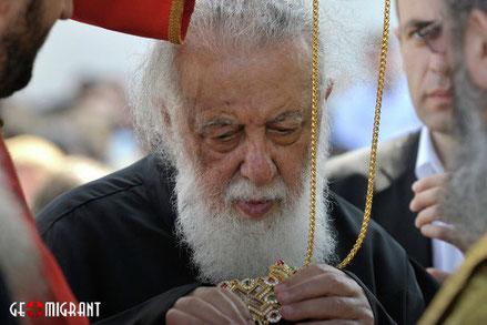 Самым популярным человеком в Грузии является патриарх Илия II