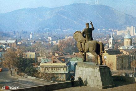Как выглядела столица Грузии Тбилиси 30 лет назад