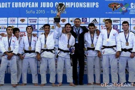 Сборная Грузии стала чемпионом Европы по дзюдо среди кадетов