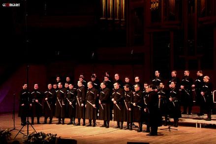 Патриарший хор Грузинской Православной Церкви вызвал бурю оваций в Москве