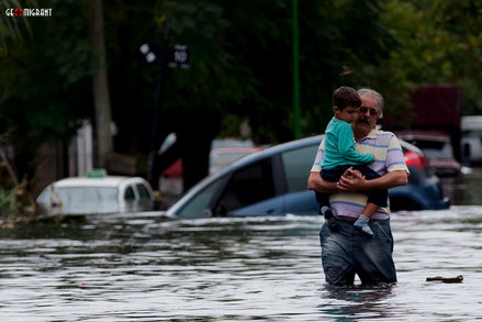 Грузию атаковали стихийные бедствия