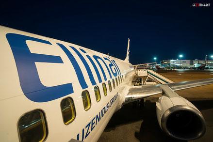 Греческая EllinAir будет летать из Салоники в Тбилиси