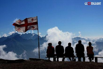 TOP 15 стран, из которых в Грузию приезжают туристы