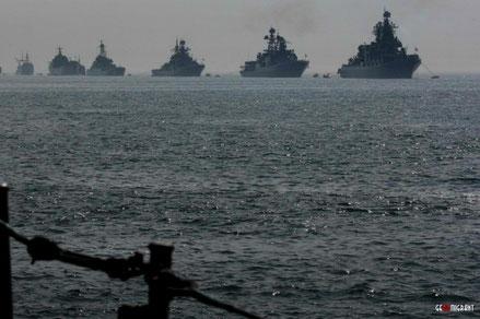 Боевые корабли США и Франции вошли в Черное море