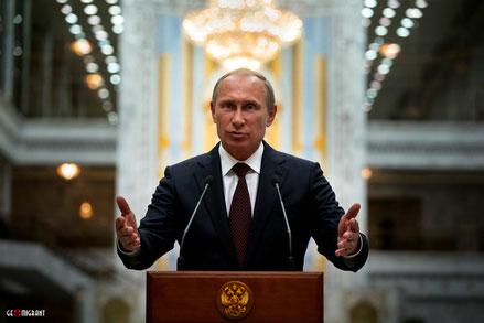 Владимир Путин поздравил народ Грузии с победой в Великой Отечественной войне